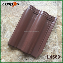 Popular coffee brown matte ceramic roof tiles in kerala price
