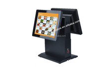12 inch android 4.0 pos terminal dual screen without software for restaurant payment pos system