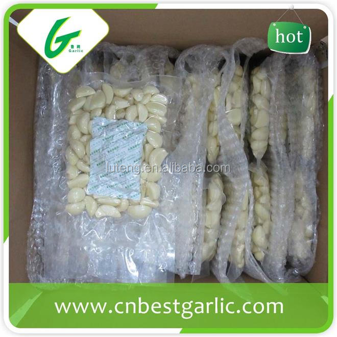 Single frozen garlic cloves