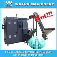 High efficiency and Low production cost small plastic blow molding machine