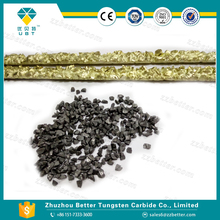 Length 430mm YD type carbide welding rods for aggressive cutting application