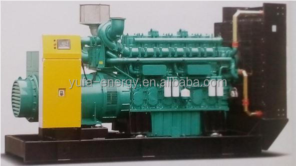 YUFA silent natural gas,biogas,LPG and coalbed methane as fuel gas generator set