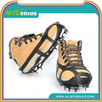 non-slip rubber shoe covers ,ML0061, ice snow shoe crampon
