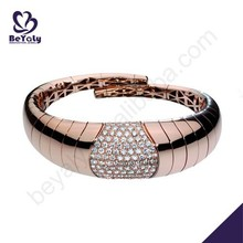 wholesale silver exquisite clear resin bangle