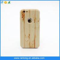 2016 Hot sale OEM newest fashion aliminum bumper Wood Pattern PC cell phone case