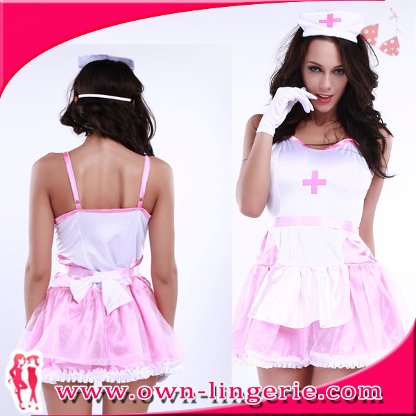 halloween cosplay cheap japanese 2016 OEM sexy nude nurse Costume