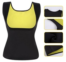 Neopreen Zweet Sauna Vest Afslanken Shapewear Taille Trainer Hot Body Shapers