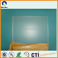 wholesale thick cheap price cast Clear high density plexiglass/pmma/ frosted acrylic sheet