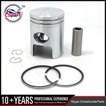 40MM 12MM Piston Ring Kit for Piaggio Typhoon 50CC 50 Scooter Parts