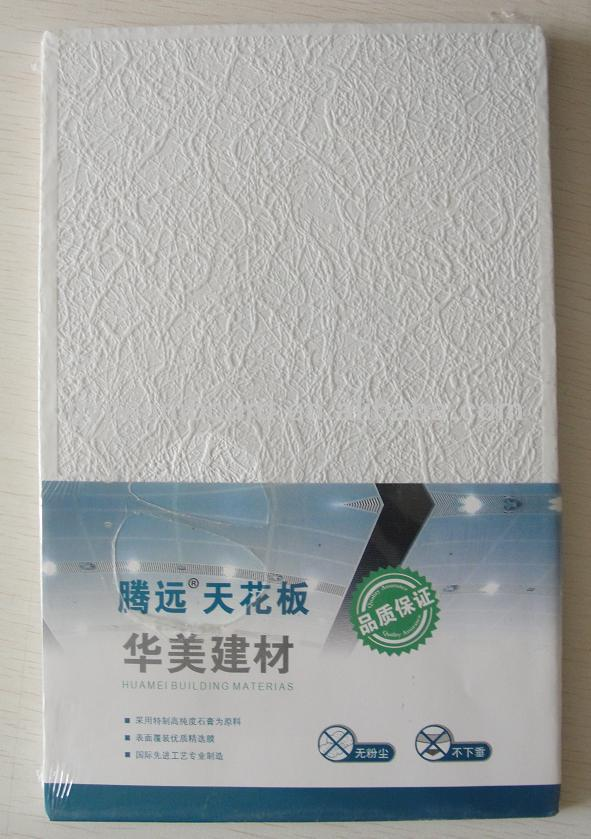 cheap vinyl coated gypsum flexible ceiling tiles