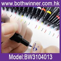 Nail art printing pen ,h0t085 nail paint pen brush , nail art pen manicure