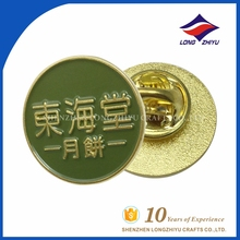 Factory price printing logo enamel metal button pin tool