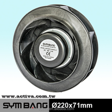DCF17568-LD Plastic Centrifugal Fans Blowers