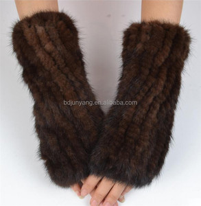 new design faux fur scarf trapper winter hat with gloves paws panda/winter hat/bear hands gloves