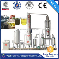 Automatic control used motor oil cleaning machine