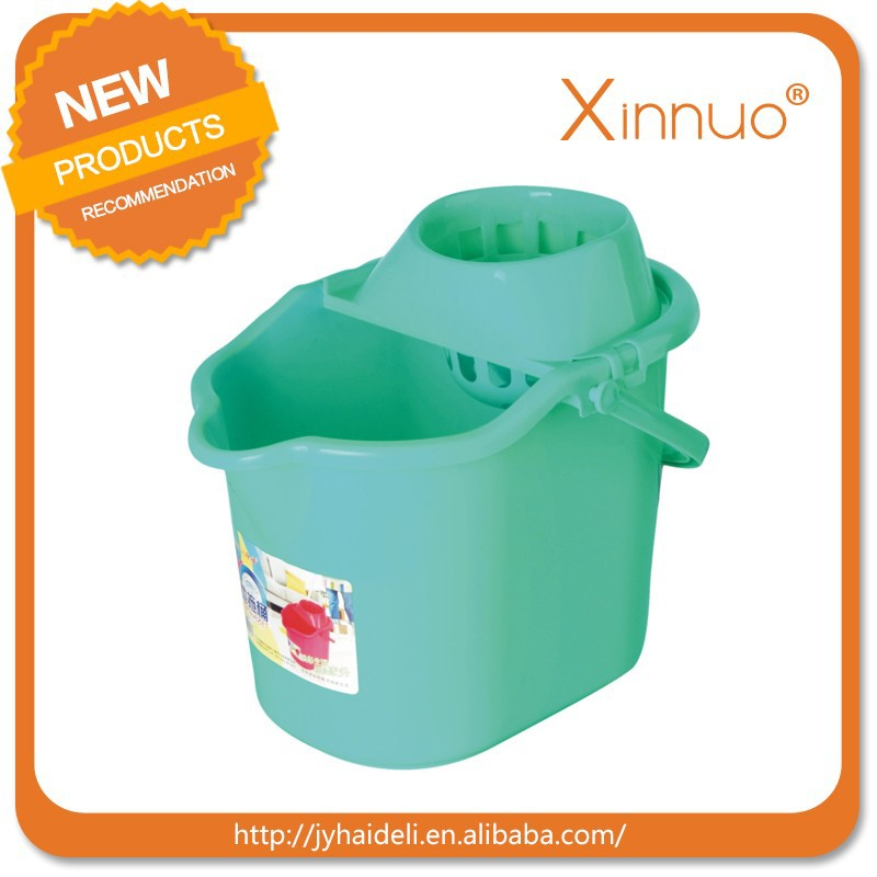 Cheap small mop bucket with wringer recycled plastic mop bucket