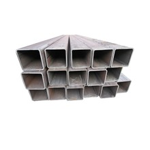 China Supplier galvanized square steel pipe steel tube ss400