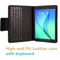 2 in 1 Split PU Laether Case With Bluetooth Keyboard For Samsung Tab E 9.6 SM-T560