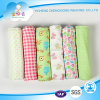 Cotton gauze cotton muslin wraps production fabric for baby diapers