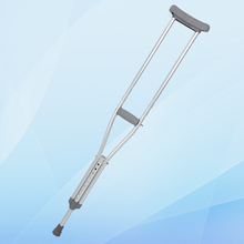 Height adjustable cheap price walking stick & underarm crutches