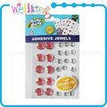 Colorful adhesive craft rhinestone with strong glue