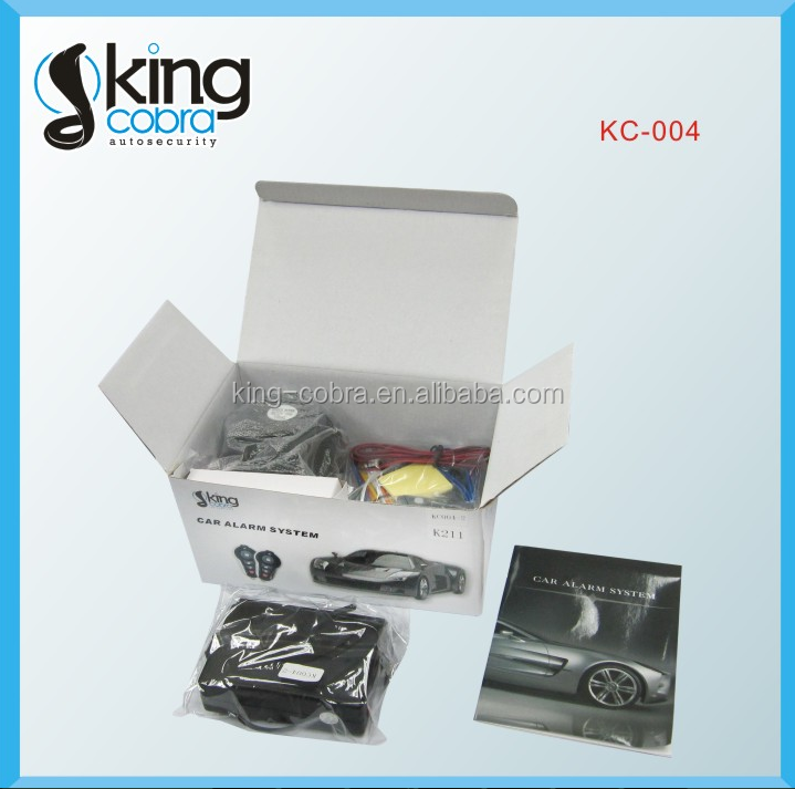 Asia Popular Seller Car Alarm System Safeguard