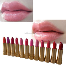 OEM wholesale private label cosmetics use organic waterproof lipstick