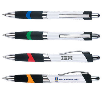 high quality simple ABS material plastic ball pen,custom logo ball pen with grip