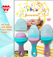New series and cute food grade soft silicone baby teether toy