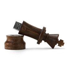 made in china usb storage, wooden chess usb flash drive