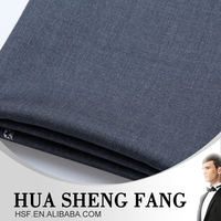 Ready Stock Men Casual Grey Worsted Wool Suit Fabric