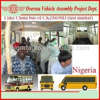 Left Hand Drive Buses--Assembly Plant Project