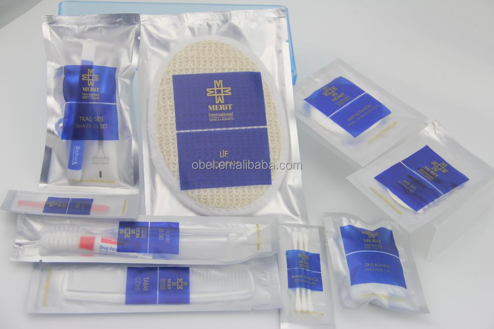 Wholesale large cheap airline travel kit amenities