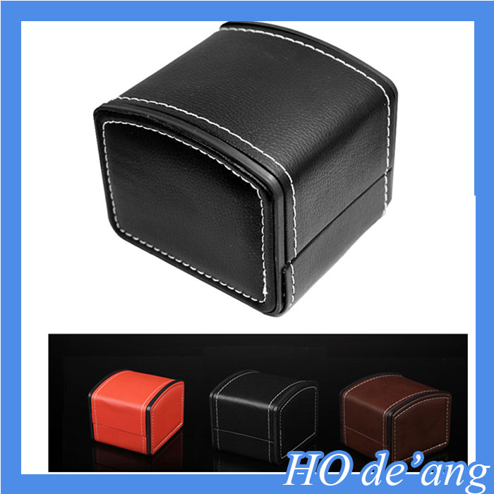 Hogift New Luxury Leather Gift Watch Box/Promotion gift case