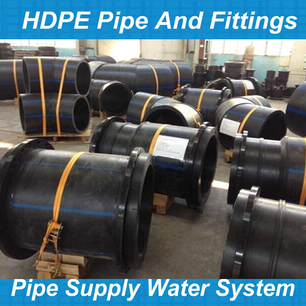 Polyethylene pipe butt fusion pe fittings buy