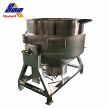 One year guarantee stainless steel jacketed kettle/food grade gas heating cooking kettle/industrial cooking pot