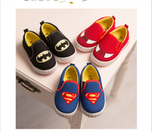 Soft Golden Baby Shoes Casual Shoes For Boys 2015 Fashion Style Superman Hero Style Children Shoes