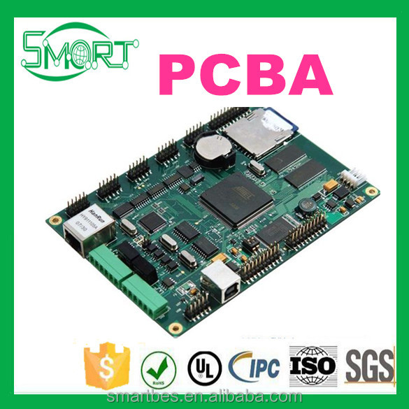 Smart Electronics custom-made SMT/DIP OEM/ODM PCB/PCBA, Assembly