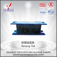 elevator parts, elevator damping rubber pad ,lift spare parts
