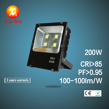 200W High Brightest 20000lm waterproof outdoor LED Flood Light for garden yard corridor ect ac85-265