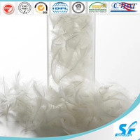 Filling material Washed White Duck Feather 2-4cm