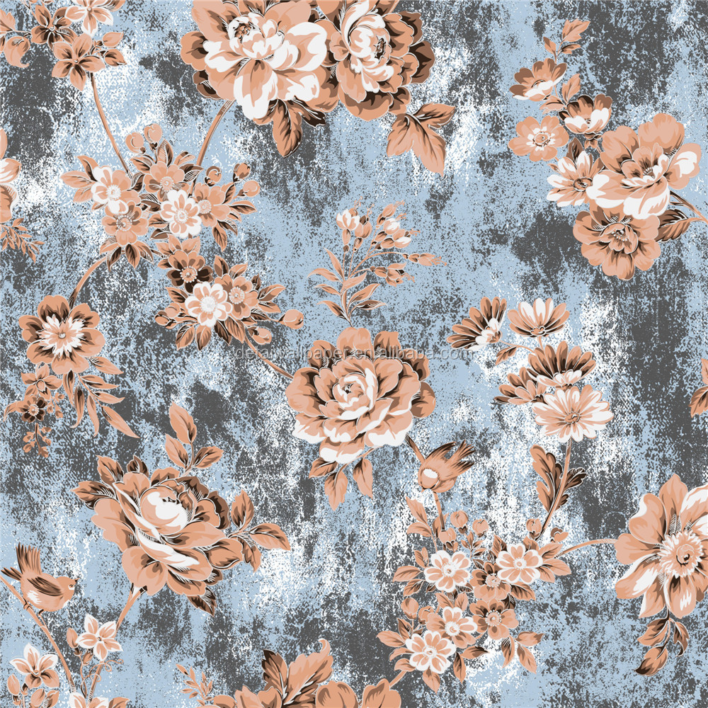 2016 best selling house decorative glitter wallpapers wallpaper distributors in China