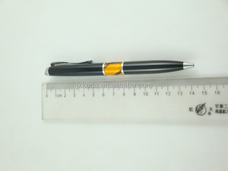 luxury writing accerssory metal acrylic ball pen