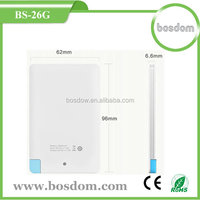 wholesale built in cable smart mobile power with 2500mah
