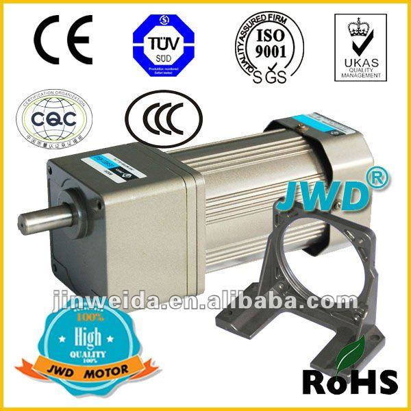 60w JWD gear motor AC induction reversbile motor 220V