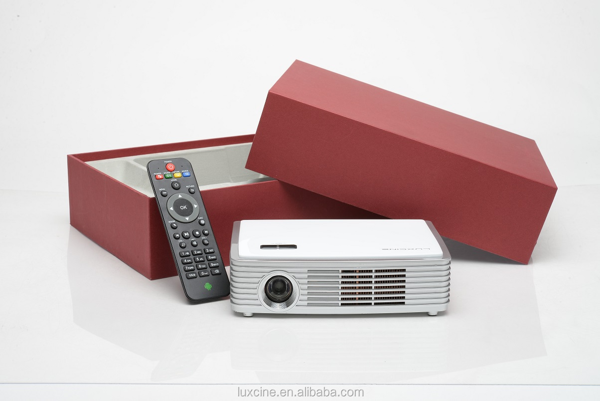 Smart Blu-ray 2205P 3D Projector / LUXCINE Projector / 3D Proyector / China Mini Proyector