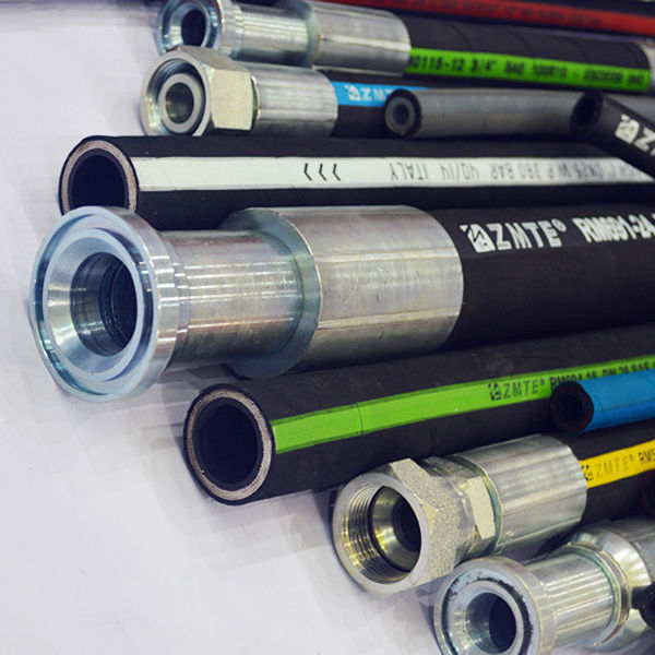 Spiraled Hydraulic Hose Meets SAE & DIN International Standards