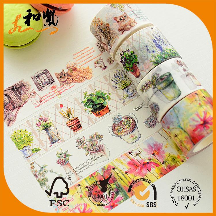 free samples print cute fabric washi japanese tape