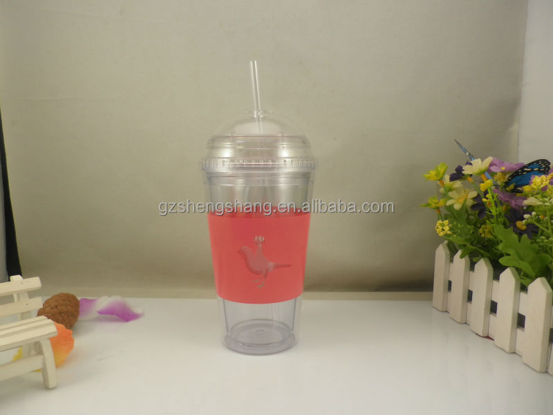 clear plastic advertising cup