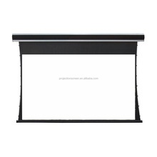 120inch 16:9 Motorized tensioner projector screen